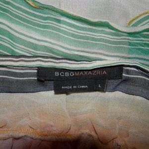 BCBGMaxAzria Tops - BCBG Women's Large 100% Silk Adjust Strap Cami Top